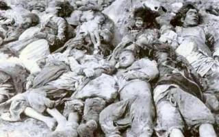 Massacred Armenian children