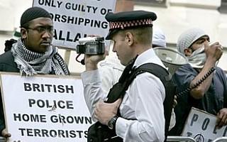 British police home grown terrorist