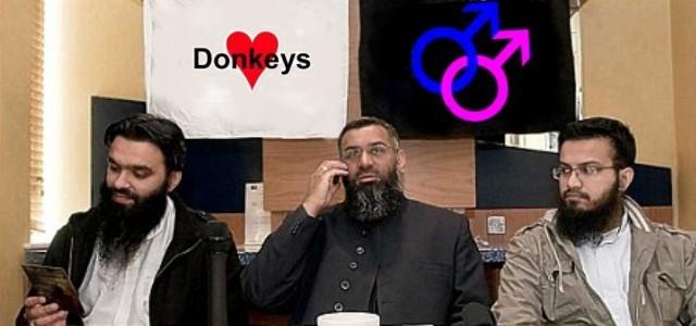 Choudary loves gays and donkeys