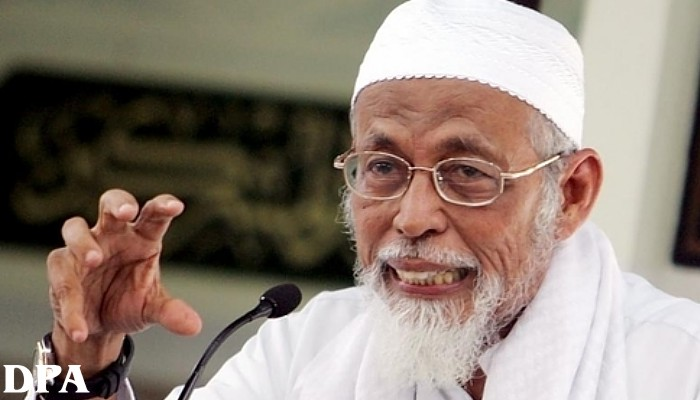 Abu Bakar Ba'asyir the intellectual leader of Jemaah Islamiyah