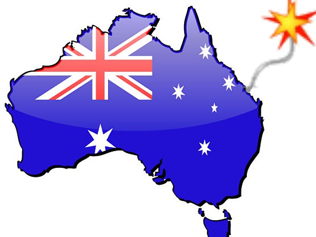 Australia blowing up