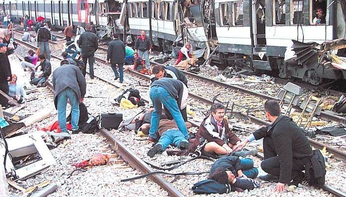 Madrid Muslim terrorist bombing 2004