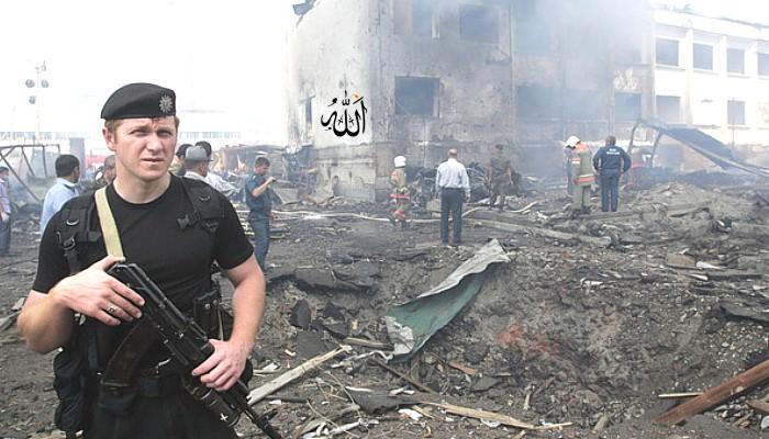 Ataque suicida mata seis policiais na Rússia