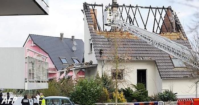 La maison se situe dans un quartier calme de Haguenau