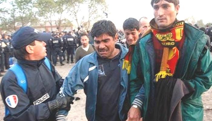 Calais invader Muslim arrested
